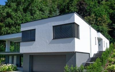 Einfamilienhaus (zwei Vollgeschosse) mit Doppelgarage