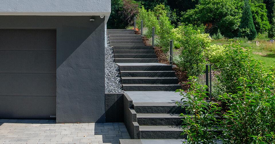 Treppen für Ihren Aufstieg - Aussenanlagen