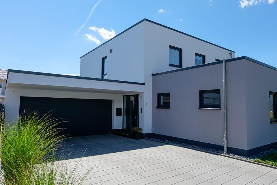 Wir können Ein- und Mehrfamilienhäuser